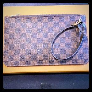 Louis Vuitton Damier Ebene wristlet